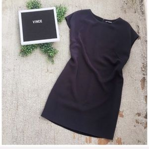 Vince Piped Shift Dress